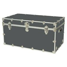Rhino Storage Trunk Footlocker 40x22x20for Camp, College & Dorm. USA Made