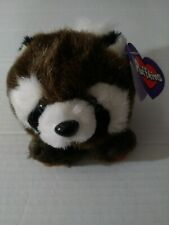 Puffkins Bandit Raccoon #6611 Plush Stuffed Animal Vintage SWIBCO with Tag