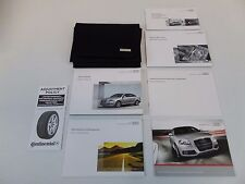 2011 11 Audi A6 Owner's Owners Owner Manual Book Kit Set Case Guide Navigation