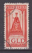 NVPH Netherlands Nederland nr 129 used 1923 Regeringsjubileum Wilhelmina