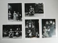 5x Foto Paño Soskine Ópera Jules CESAR Para El Besnardiere 1978