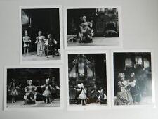 5x photo tampon SOSKINE Opéra Jules Cesar à LA BESNARDIERE 1978