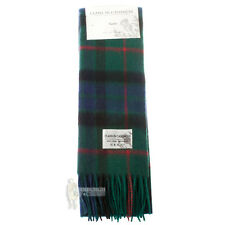 SOFT CASHMERE CLAN SCARF - SCOTTISH FAMILY TARTANS - GUNN