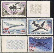 Reunion 1961 Planes/Helicopter/Aviation/Aircraft/Transport/Flight 4v set n44277