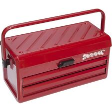 Sidchrome 2-DRAWER TOOL CHEST 295x560x295mm Perfect For Everyday Use *Aust Brand