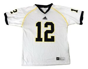 adidas NCAA Youth Boys Michigan Wolverines #12 Football Jersey New S, L