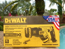 DEWALT DCS367B 20V 20 Volt Max Brushless Li-Ion Reciprocating Saw Sealed Box!