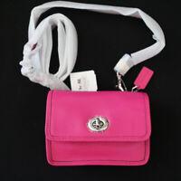 NWT COACH Legacy Leather 48005 Mini Penny Crossbody Swing Bag Pink Purse NEW
