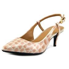 59f9db36d1b Calvin Klein Patsi Slingback Pointed Toe PUMPS 772 Clay 8.5 US   38.5 EU