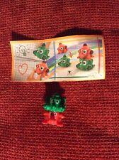 Sorpresa Kinder Mixart FF052 + Cartina Timbro Verde Rosso