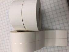 4 Rolls2x3 Thermal Transfer Labels 2 Up 3000 Proll Zebra Datamax Printers