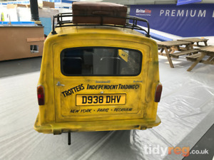 Only Fools and Horses Registration Number! Delboy Trotter vehicle reg plate OFAH