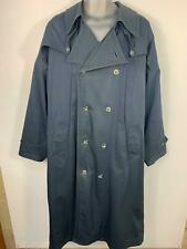 MENS MARKS&SPENCER NAVY BLUE SMART/CASUAL LONG LENGTH WINTER OVERCOAT SIZE LARGE