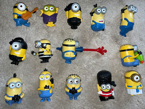 Mega Job Lot Of Mcdonalds minion toys. No Batteries