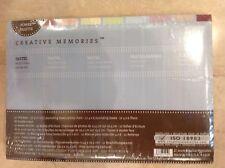 CREATIVE MEMORIES POWER PALETTE MILESTONE ALBUM KIT PASTEL TITLE BARS MATS NIP