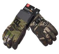 Under Armour UA Windstopper® Ridge Reaper® Forest Camo Hunt Gloves Men's L NWT