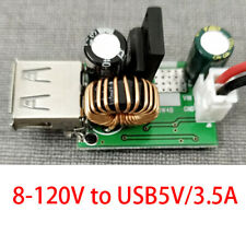 !high voltage stabilization Dc Buck 8-120V to 5V3.5A Usb solar converter module