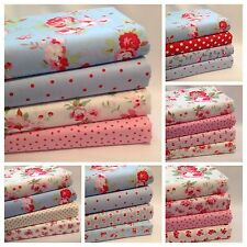 FAT QUARTER BUNDLES & FABRIC SQUARES 100% COTTON INC CATH KIDSTON ROSE & HUBBLE.