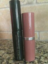 Clinique Pop Lipcolour Primer + Lipstick in Bare Pop & High Impact Mascara mini