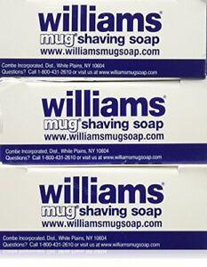 Williams Mug Shaving Soap 3 Count