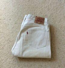 Mens Levis 501 XX Straight Leg Beige Denim Jeans W 36 L 32