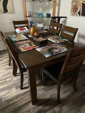 6 Piece Dinner Room Table Set