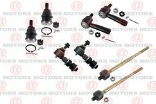 For Nissan Sentra 95-98 Front Ball Joints Tie Rods Stabilizer Bar Link 8 Pcs