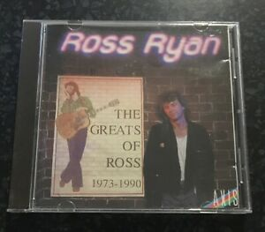 ROSS RYAN - The Greats Of Ross - 1973 - 1990 - RARE OOP Australian - CD