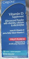 Vitamin D 1000 IU+other vitamins powder 30 packets Fruit punch Careone Exp:05/14