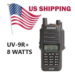 BaoFeng UV-9R 8w Dual Band Radio VHF/UHF Portable Transceiver