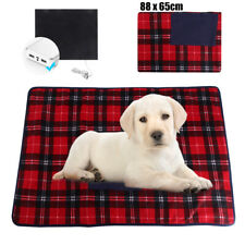 5V USB Electric Heated Dog Heating Pad Mat Warm Blanket Car Office Cover Heater