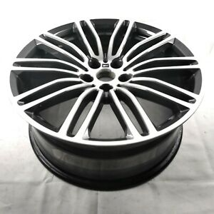 """BMW 5-SERIES G30 2017-2020 POLISHED/BLACK 19"""" FRONT ALLOY WHEEL, PART No 7855083"""