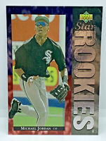 1994 UPPER DECK MICHAEL JORDAN #19 STAR ROOKIES CARD BASEBALL, HIGH GRADE