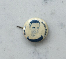 VINTAGE TIN LITHO PINBACK BUTTON CHARLES BUDDY ROGERS CELEBRITY ACTOR