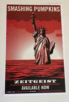 smashing pumpkins band ZEITGEIST poster shepard fairey art print billy corgan