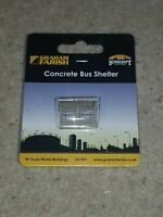 N Gauge Graham Farish 42-593 Concrete Bus Shelter model railway building scenery