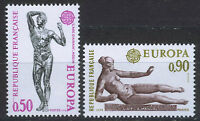 FRANCIA/FRANCE 1974 MNH SC.1399/1400 CEPT,sculptures