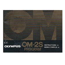 Olympus OM-2S Program *Original Manual*