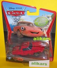 A - CELINE DEPHARE - #38 Chase Insegui Disney Cars 2 character auto die-cast car