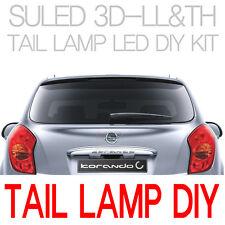 LED Tail Light Lamp 3D-LL&TH Version DIY 2Way 2p For 11 Ssangyong Korando C