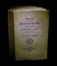 Mémoires du Marquis de Beauvais-Nangis / Procès de Marquis de la Boulaye. 1862.