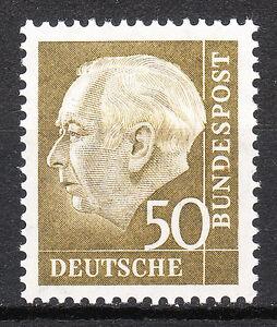 BRD 1956 57 Mi. Nr. 261 Postfrisch LUXUS!!!