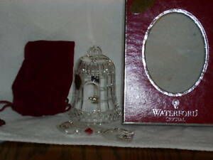 """WATERFORD 2010 12 DAYS 4TH ED 4 CALLING BIRDS 3"""" CRYSTAL ORNAMENT~~RETIRED"""
