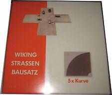 WIKING 119903 H0 Strassen Bausatz Kurve 5x