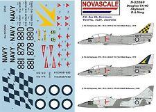 RAN TA-4G Skyhawk Decals 1/32 Scale N32069