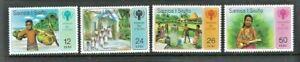 Samoa 1979, International Year of the Child sg536/9 MNH