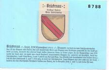 Reklamemarke Wappen von Brückenau/Bayern um 1925 (B456)