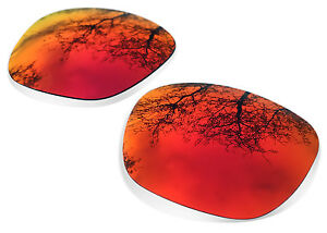 Polarized Red Replacement Lenses for Oakley Garage Rock