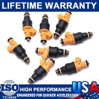 8X Flow Matched Bosch 0280150943 Fuel Injectors for Ford 4.6 5.0 5.4 5.8