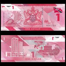Trinidad and Tobago 1 Dollar, 2020/2021, P-New, Polymer, Banknotes, UNC